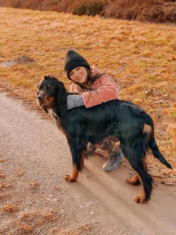 Maria Camila y el perro1