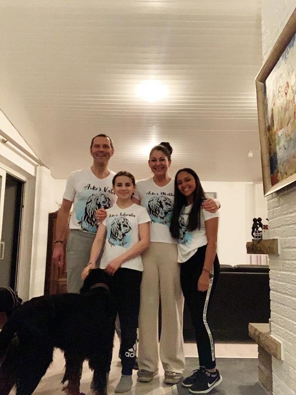 Maria Camila y su familia alemana