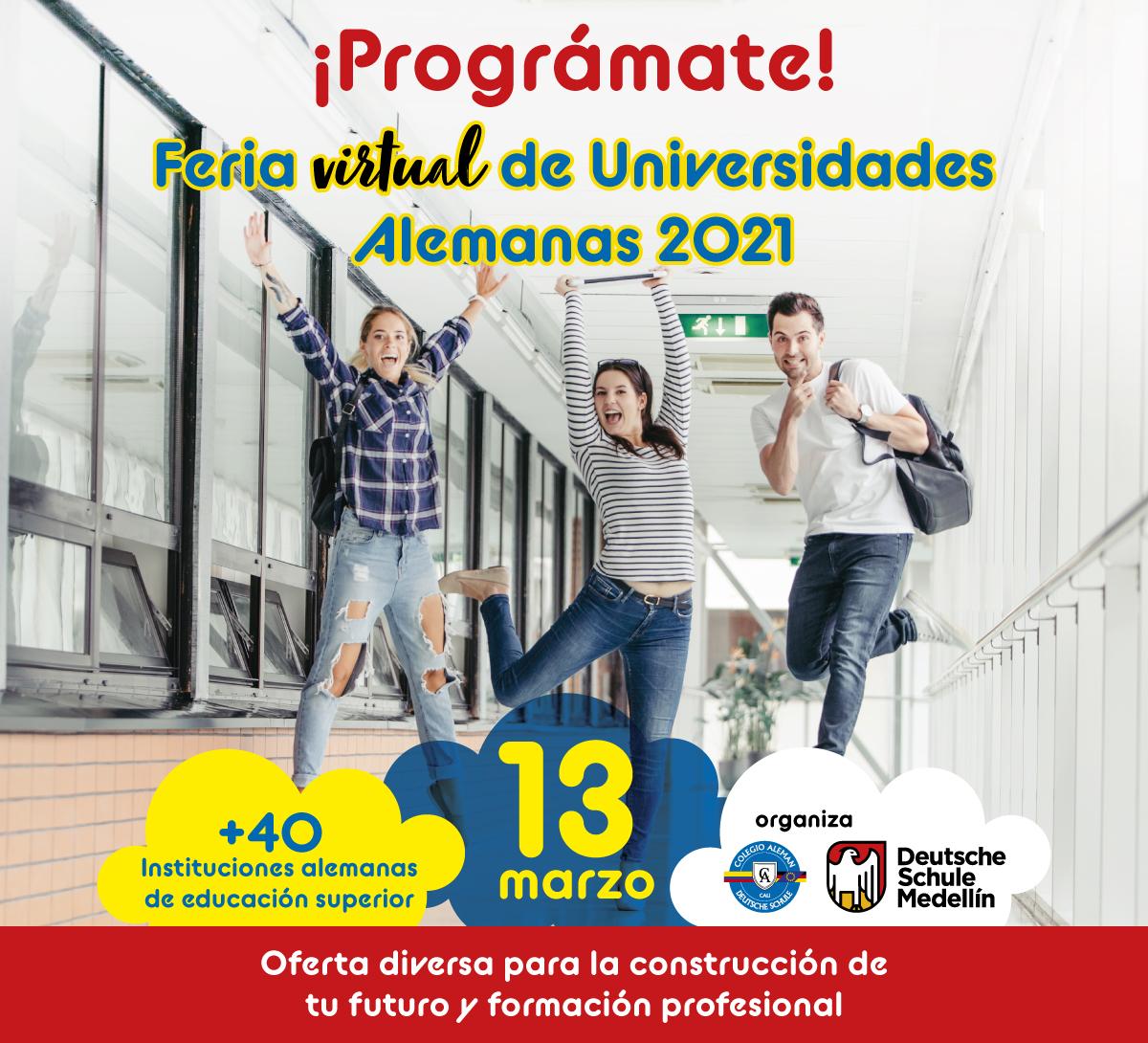 Feria de Universidades Alemanas 2021