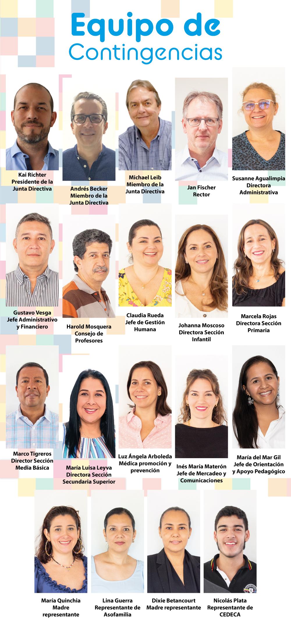 Equipo de Contingencias | Comprometidos con la comunidad DSCali
