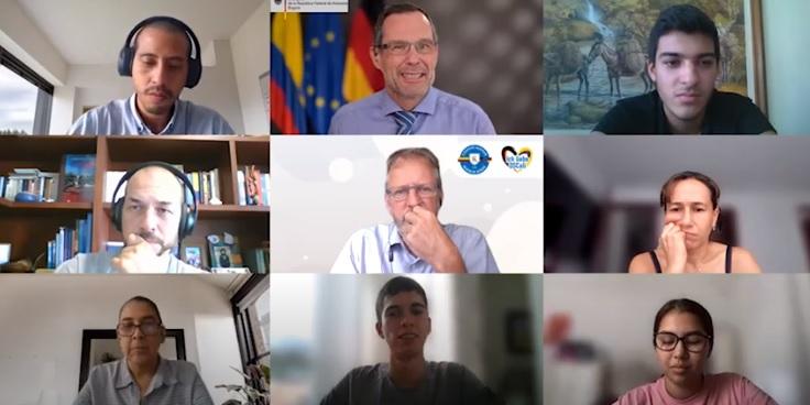 Conversatorio con el Embajador de Alemania en Colombia, Sr. Peter Ptassek