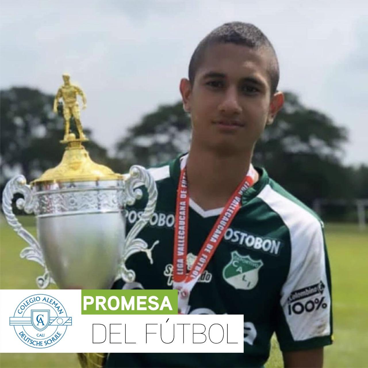 José Alejandro Mazorra Díaz  | Promesa del fútbol