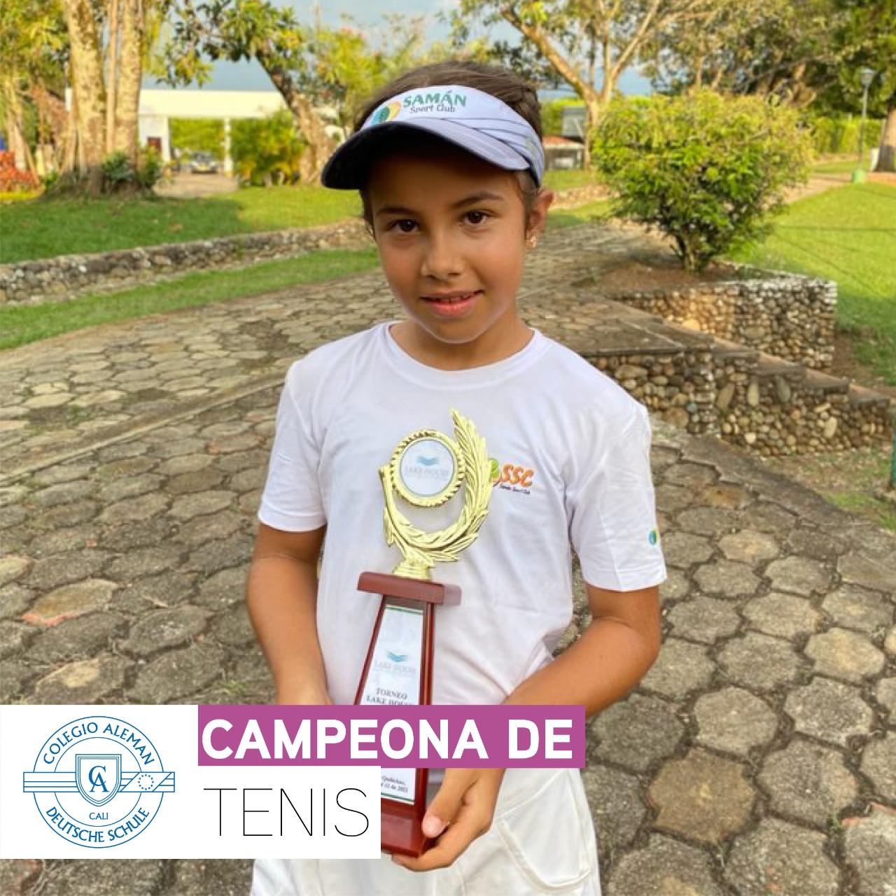 Laura Joerns Ordoñez | Campeona de Tenis